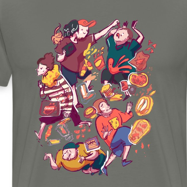 Wreckless Collage Shirt