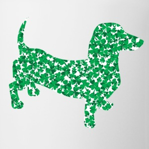 Shamrock Dachshund - Coffee/Tea Mug