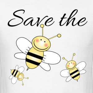 Save The Bees Long Sleeve Shirts - Men's T-Shirt