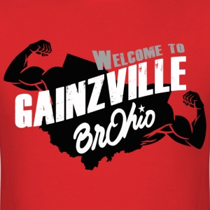 Gainzville! - Men's T-Shirt