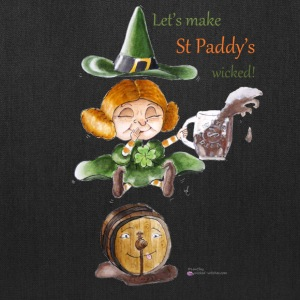 St Patrick' day Tote bag - Wicked Witches - Tote Bag
