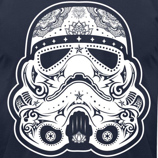 Chattanooga Tshirt | Storm Trooper Sugar Skull Tattoo Design - Mens ...