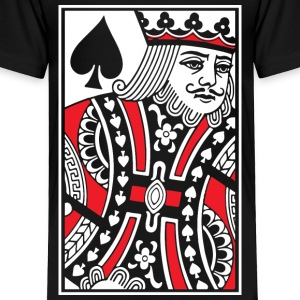 Kings of Spades Playing Card Baby & Toddler Shirts - Toddler Premium T-Shirt