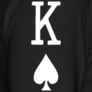 Kings of Spades Playing Card Long Sleeve Shirts - Men's Long Sleeve T-Shirt by Next Level