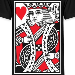 King of Hearts Vector Baby & Toddler Shirts - Toddler Premium T-Shirt