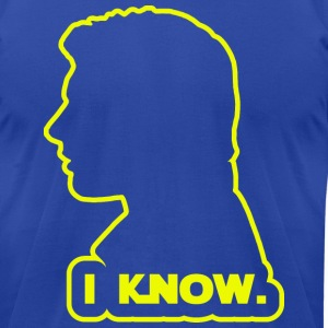 Han Solo - I Know. Design T-Shirts - Men's T-Shirt by American Apparel