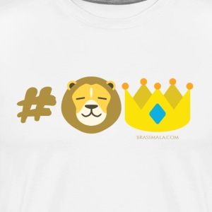 Hashtag Lion King - Men's Premium T-Shirt