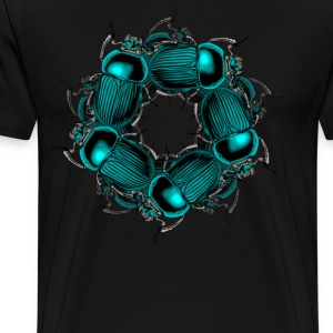 EGYPTIAN SCARAB - Men's Premium T-Shirt
