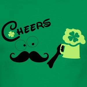 Cheers st.patty's day Men's Ringer T-Shirt - Men's Ringer T-Shirt