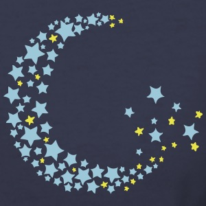Half moon & star Women's V-Neck T-Shirt - Women's V-Neck T-Shirt