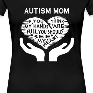 AUTISM MOM - Women's Premium T-Shirt
