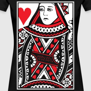 Queen of Hearts Women's T-Shirts - Women's Premium T-Shirt