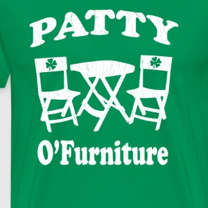 Funny Patty O'Furniture (vintage look) - Men's Premium T-Shirt