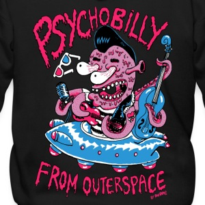 psychobilly from outerspace Zip Hoodies & Jackets - Men's Zip Hoodie