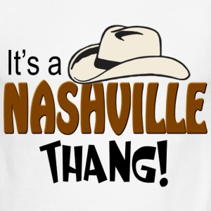 It's a Nashville Thang Men's Ringer T-Shirts - Men's Ringer T-Shirt