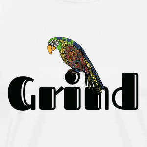 The Funky Grind - Men's Premium T-Shirt
