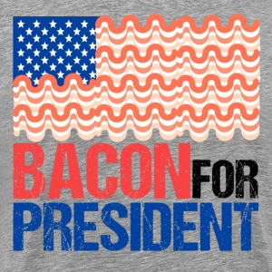 Bacon for President Humor - Men's Premium T-Shirt