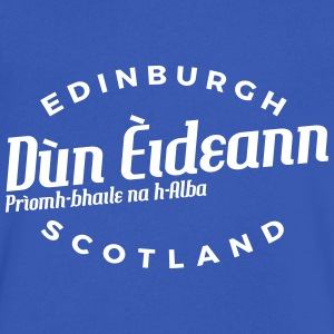 Edinburgh T-Shirts - Men's V-Neck T-Shirt by Canvas