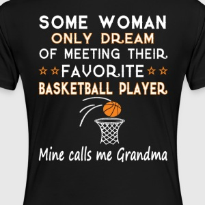 BASKETBALL GRANDMA - Women's Premium T-Shirt