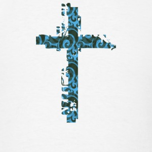 Jesus Cross T-Shirts - Men's T-Shirt