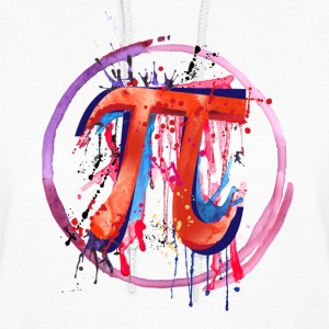 Emotional Pi, Drip Art - Women's Hoodie