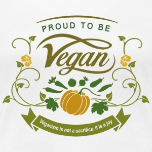 Proud to be Vegan - Women's Premium T-Shirt
