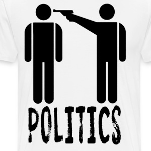 POLITICS T-Shirts - Men's Premium T-Shirt