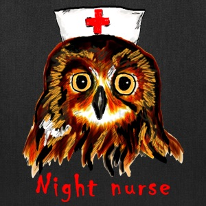 night nurse Bags & backpacks - Tote Bag