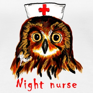 night nurse Women's T-Shirts - Women's Premium T-Shirt