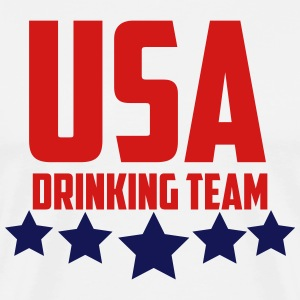 USA Drinking Team  T-Shirts - Men's Premium T-Shirt