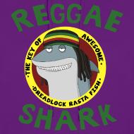 Design ~ Reggae Shark - Ladies (more colors available)