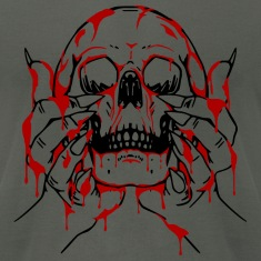 Bloody Skull Offering T-Shirts