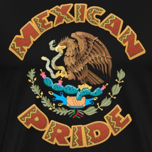 Mexico Mexican Flag - Men's Premium T-Shirt