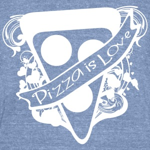 Pizza is Love - Unisex Tri-Blend T-Shirt by American Apparel
