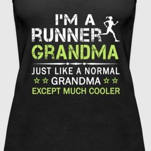 RUNNER GRANDMA - Women's Premium Tank Top