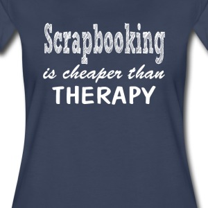 Scrapbooking Therapy - Women's Premium T-Shirt