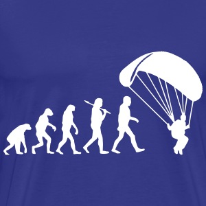 Evolution Parachute Jumping T-Shirts - Men's Premium T-Shirt