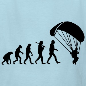 Evolution Parachute Jumping Kids' Shirts - Kids' T-Shirt