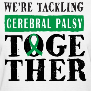 Cerebral Palsy Awareness Ribbon Women's T-Shirts - Women's T-Shirt