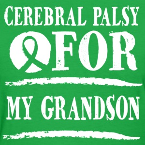 Cerebral Palsy For My Grandson Women's T-Shirts - Women's T-Shirt