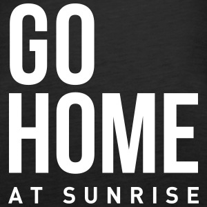 go home at sunrise party club DJ weekend Tanks - Women's Premium Tank Top