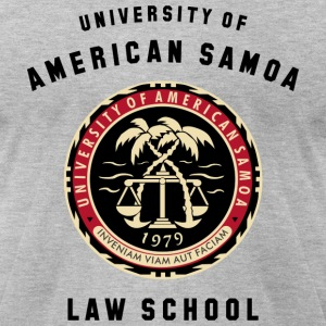 UNIVERSITY OF SAMOA T-Shirts - Men's T-Shirt by American Apparel