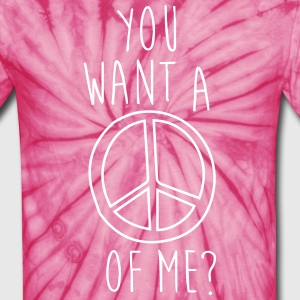 A peace of me - Unisex Tie Dye T-Shirt