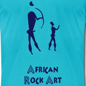 African rock art - Men's T-Shirt by American Apparel