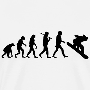 EvolutionofSnowboarding T-Shirts - Men's Premium T-Shirt