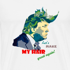 my hair  - Men's Premium T-Shirt