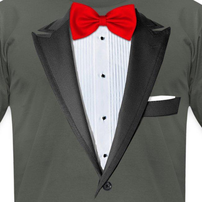 b92f9511 Chattanooga Tshirt | Realistic Tuxedo T-shirt - Mens Jersey T-Shirt