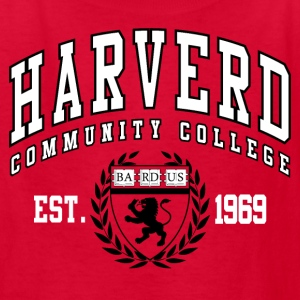 Joke Shirt: Harverd Community College(MIsspelled) Kids' Shirts - Kids' T-Shirt