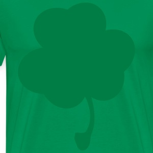 Plain Clover Green Tee - Men's Premium T-Shirt