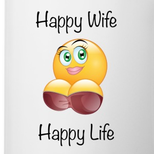 Happy Wife Happy Life Coffee Mug - Coffee/Tea Mug